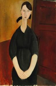 Modigliani, Portrait de Paulette Jourdain
