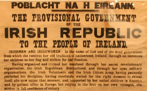 An image of part of the Proclamation.