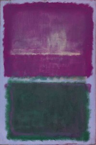 Rothko, Untitled (Lavender and Green).