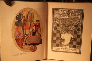The Fairy Tales of Hans Christian Andersen with illustrations by Harry Clarke. (2nd (1930) Edition.