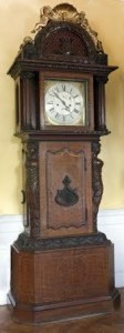 The Irish Houses of Parliament Speaker's Clock sold for 115,000 at hammer at Fonsie Mealy's sale at Furness House in Co. Kildare.