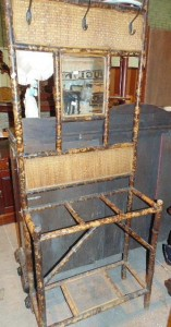 Victorian bamboo hallstand (60-80).