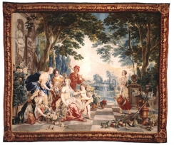 Workshop of Jasper van der Borcht (d.1740)., The Triumph of Flora, from the Triumph of the Gods and Goddesses AT KASHISHIAN
