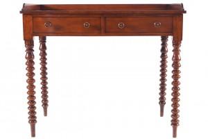 A Cork Regency side table (200-300).