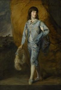 Thomas Gainsborough - The Blue Page.