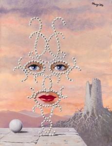 Rene Magritte - Sheherazade (£500,000-700,000).