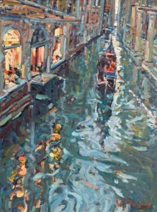 Arthur Maderson - Evening Study, Venice (3,000-5,000).