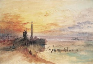 Joseph Mallord William Turner (1775-1851) Great Yarmouth Harbour, Norfolk, c.1840 Photo © National Gallery of Ireland