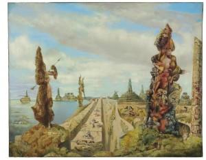 MAX ERNST (1891-1976) The Stolen Mirror