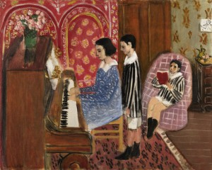 La Lecon de Piano by Henri Matisse