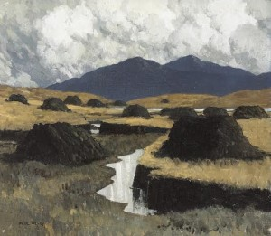 A Kerry Bog by Paul Henry (60,000-80,000).