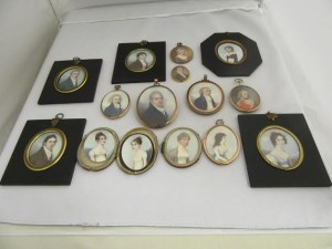 A collection of miniatures.