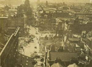 Henry St. and Mary St. from the top of Nelson's Pillar.