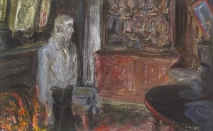 Jack B. Yeats - The Quay Workers Home, 1927 (60,000-80,000).