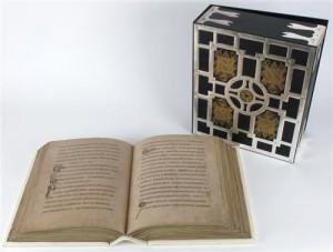 A rare facsimile replica of The Book of Kells (4,000-6,000).