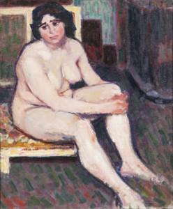 Roderic O'Conor, Nu Brun Assis (8,000-12,000)