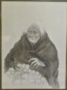 William Harrington - The Apple Seller sold for 2,500 at hammer.