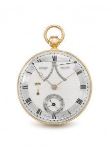 Breguet et Fils, Paris No. 217. Courtesy Christie's Images Ltd., 2016.