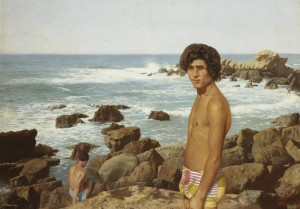 Patrick Hennessy (1915-80) Kassim by the Sea, 1978. Image courtesy of Whytes, © The Artist's Estate