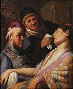 Rembrandt Harmenszoon van Rijn (Leiden 1606-1669 Amsterdam) - Smell