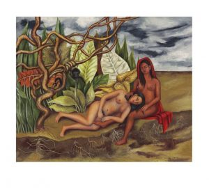 Frida Kahlo (1907-1954) Dos desnudos en el bosque (La tierra misma) ($8-12 million). Courtesy Christie's Images Ltd., 2016.