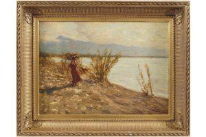 Henry Herbert la Thangue (1859-1929) -Cannara Mountains (8,000-12,000)