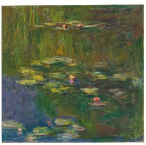 Claude Monet (1840-1926) Le bassin aux nymphéas ($25-35 million). Courtesy Christie's Images Ltd., 2016