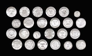 Picasso's silver plates.