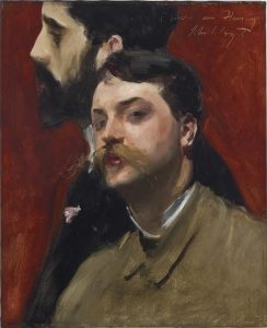 John Singer Sargent (1856-1925) François Flameng and Paul Helleu courtesy Christie's Images Ltd., 2016