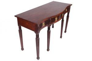 A Dublin 19th century Adam side table (3,000-5,000)