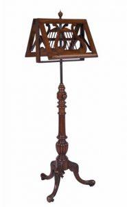 A Victorian walnut duet music stand (800-1,000)