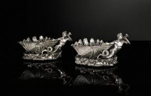 A pair of Victorian silver table centre dessert bowls Paul Storr for Storr & Mortimer, London, 1838 (£50,000-70,000)