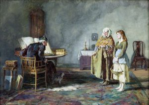 Howard Helmick (1845-1907) Presents for the Priest (1,500-2,000)