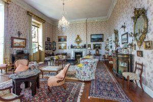The drawing room at Lotabeg