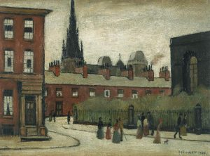 Laurence Stephen Lowry, The Spire, 1949 (£100,000-150,000)