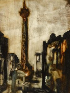 Séamus Ó Colmáin (1925-1990) NELSON'S PILLAR, 1966 from Whyte's sale of Important Irish Art on May 30