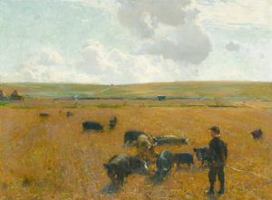 Walter Osborne - Joe the Swineherd 1890 (60,000-80,000)