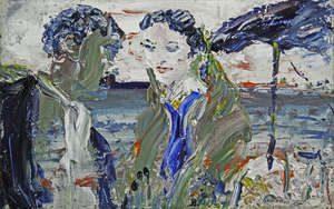 Jack Butler Yeats RHA (1871-1957) By Drumcliffe Strand Long Ago (80,000-120,000)