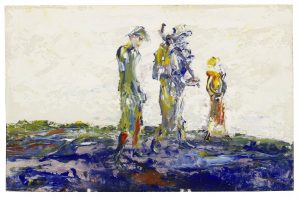 Jack Butler Yeats (1871-1957) - Single File (£30,000-50,000)