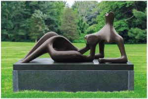 Henry Moore - Festival. The 1951 work was commissioned for the Festival of Britain.