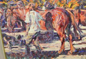 Arthur Maderson 'At Tallow Horse Fair' (3,000-4,000)