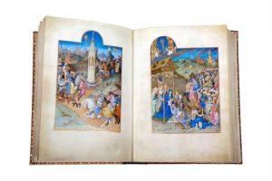 A FACSIMILE REPRODUCTION OF A MASTERPIECE, Les Tres Riches Heures de Jean, Duc de Berry,edited by Franco Cosimo Panini, copy 508/550,