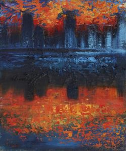 Carina Scott - Manhattan Skyline.
