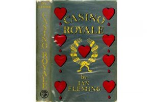 Ian Fleming - Casino Royale First Edition, 1953.