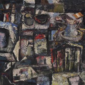 Tony O'Malley - The Studio, New Ross, 1959