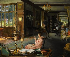 Mary Borden and her family at Bisham Abbey by Sir John Lavery (£150,000-250,000)