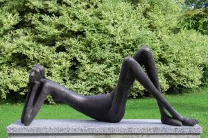 Lazy Lady by Rowan Gillespie (£12,000-18,000)