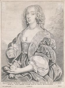 Wenceslaus Hollar (1607-1677) Portrait of Mary Villiers, Duchess of Richmond and Lennox, c.1646 Presented, Brian Lalor, 2014 Photo © National Gallery of Ireland