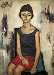 Shiy De Jinn (1923-1981) - Young girl