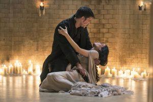 Josh Hartnett and Eva Green as Ethan and Vanessa